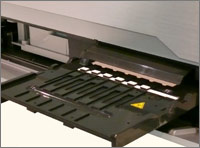 cleaning paper used in the automatic cleaning increases ease of maintenance.