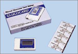 当社で酵素電極法を採用した最初の機種 グルコカード GT-1610(1991)