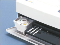 Built-in centrifuge saves time and cost for pretreatment of samples